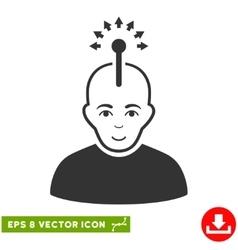 Optical Neural Interface EPS Icon vector