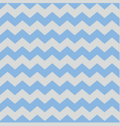 Tile pattern with pastel blue and grey zig zag vector