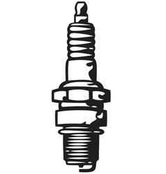 Spark Plug vector image vector image
