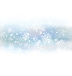 Background white snowflakes vector