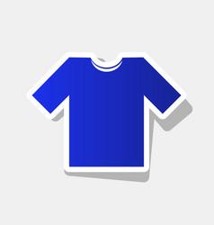 t-shirt sign new year bluish vector image