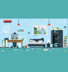 Dirty room vector