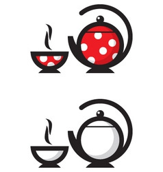 tea icon vector image