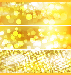 The template for Beautiful gold background vector image vector image