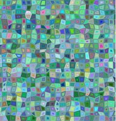 Color irregular rectangle mosaic background vector