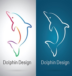 Dolphin Design vector