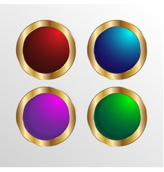 Glossy tags button stock image vector