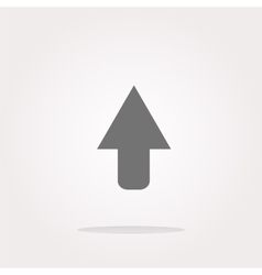 icon arrow - web button Web Icon Art vector image