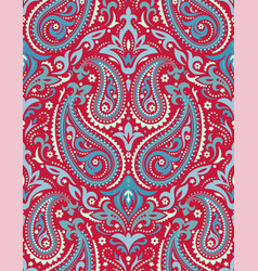Mandala ethnic motifs seamless pattern vector