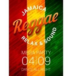 Reggae vector