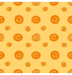Seamless background with the abstract circles vector
