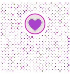 Valentine polka dots eps 8 vector