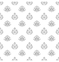 Wallpaper in baroque style vector image
