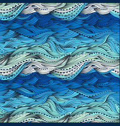 sea big pattern gradient vector image