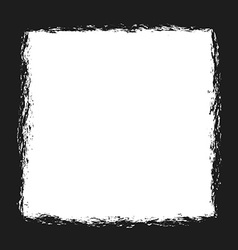 grungy frame vector image