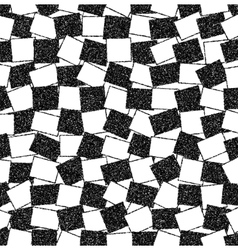 Black and white background of rectangles vector image