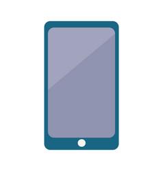 digital smartphone with big screen icon vector image