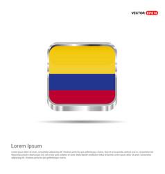 colimbia flag design vector image