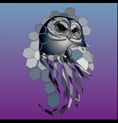 design owl vector image