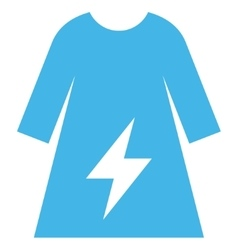 Electricity Female Dress Eps Icon vector