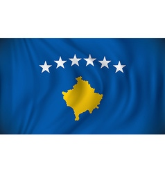 Flag of Kosovo vector