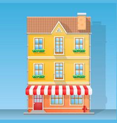 House shop flat vector