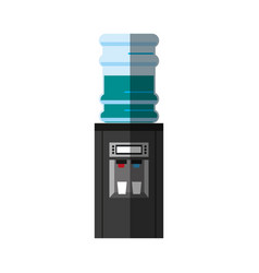 Office water cooler icon image vector