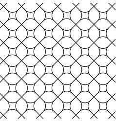 Rounded rhombus pattern vector