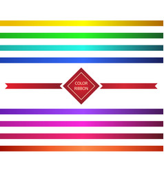 template color gradient vector image