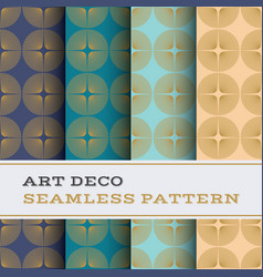 Art deco seamless pattern 53 vector