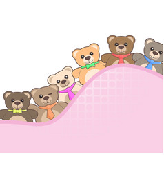 friends toys vector image