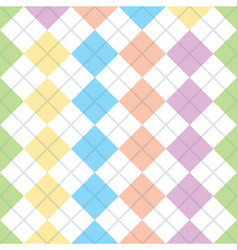 geometry seamless squares background vector image