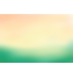 Green and beige blurred background vector