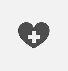 Medical flat symbol icon for web in trendy flat vector