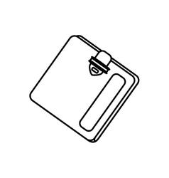 Money wallet accesorie vector image