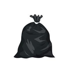 plastic garbage ba vector image