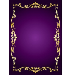 Purple luxury background vector