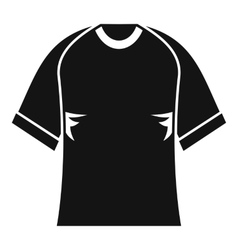 Raglan tshirt icon simple style vector