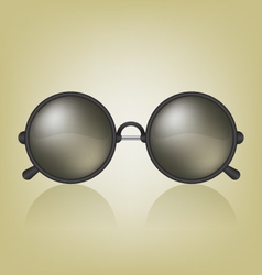 Retro sunglasses vector image