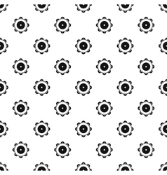 Tambourine pattern simple style vector