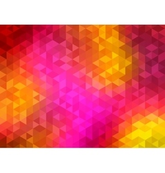 Polygonal Background for webdesign - Yellow vector image vector image