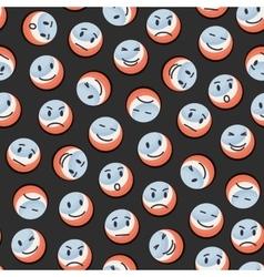 Balls pattern vector image vector image