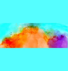 Abstract surface bright colorful splash vector