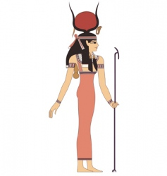 Ancient egypt god vector