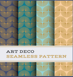 art deco seamless pattern 54 vector image