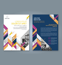 Cover annual report 888 vector