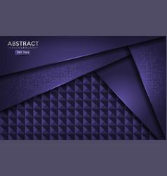 luxurious abstract dark purple background design vector image