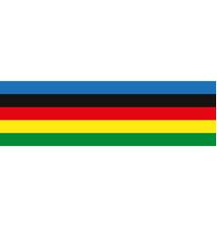 Multi-colored symbolic stripes vector