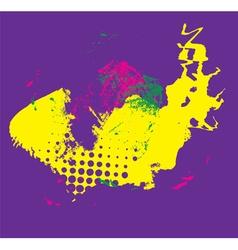 neon grunge backgrond vector image