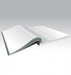 open magazine vector image vector image